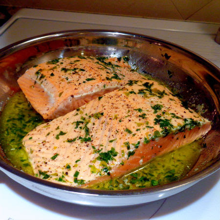 how to get skin off salmon fillet