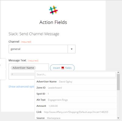 insert field buysellads zapier integration