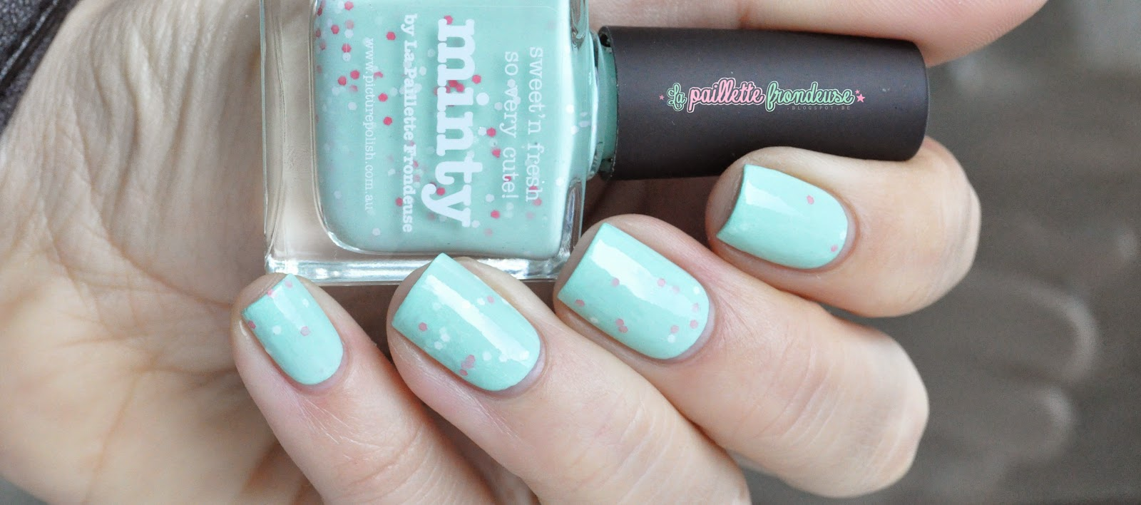 Picture polish Minty by La paillette frondeuse