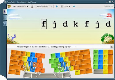 Free Download Rapid Typing Tutor 5 Touch Typing