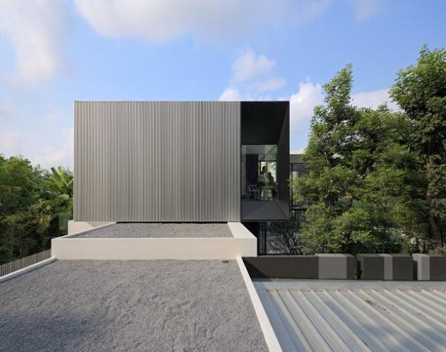Rumah Minimalis Modern Versi Bangkok Thailand
