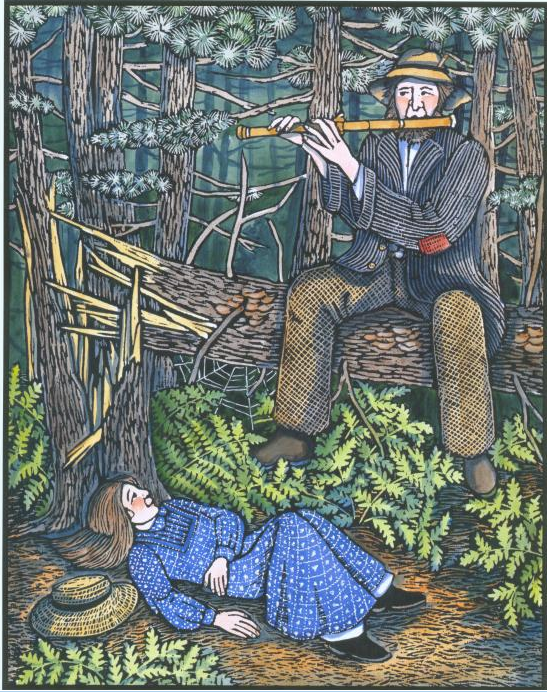the childhood education and literary works of henry david thoreau The world knows henry david thoreau as a writer whose perspectives on nature   this summer, thoreau would have turned 200 years old.