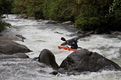 Joel Fedak on the Rio Guabo, Chris Baer, Colombia