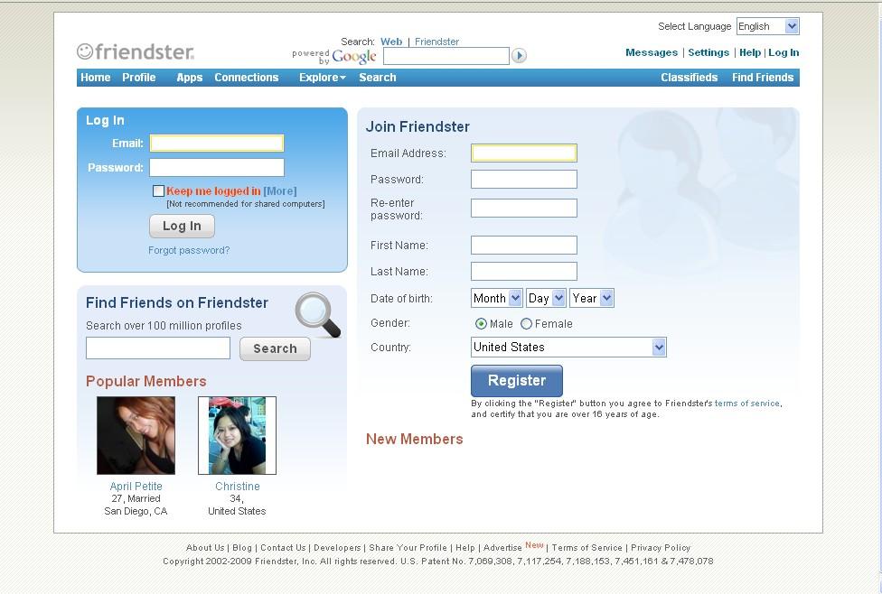 Friendster 2009