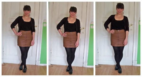 30 Kleidungsstücke für 30 Tage ergeben 30 verschiedene Outfits Tag 10