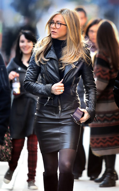 Jennifer aniston leather jacket