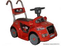 5 Mobil Mainan Aki JUNIOR JB20A AUDI Kendali Jauh