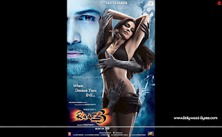 Raaz 3 WideScreen HD Wallpaper Featuring Emraan Hashmi, Bipasha Basu