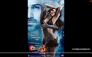 Raaz 3 WideScreen HD Wallpaper Featuring Emraan Hashmi, Bipasha Basu