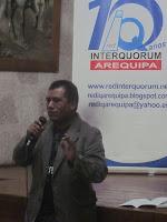 Seguidamente, intervino un panel compuesto por 03 representantes de organizaciones juveniles de Arequipa: Diego de la Cruz, administrador de Siete Esquinas, Carlos Rivera Quispe, presidente de Casa de Cartón, y Paola Chiuche Vera, Vocera de la Red Interquorum Arequipa.