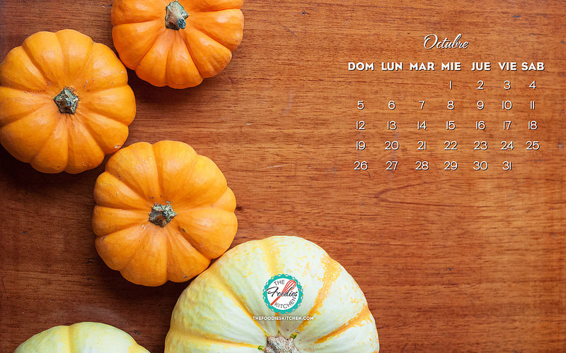 Foodies Freebie: October 2014 Wallpaper Collection