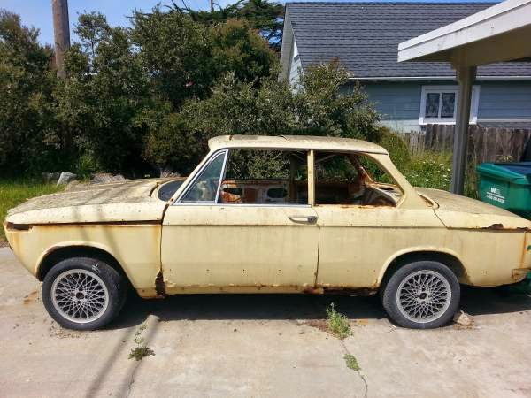 Daily Turismo Free Rusty Survivor 1972 Bmw 2002tii