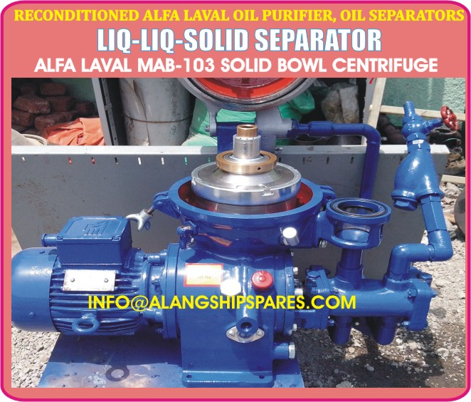 reconditioned marine and industrial centrifuge separators purifiers rh alfalavalcentrifugeseparator blogspot com How Centrifugal Sand Separators Work Centrifugal Cyclone Separators