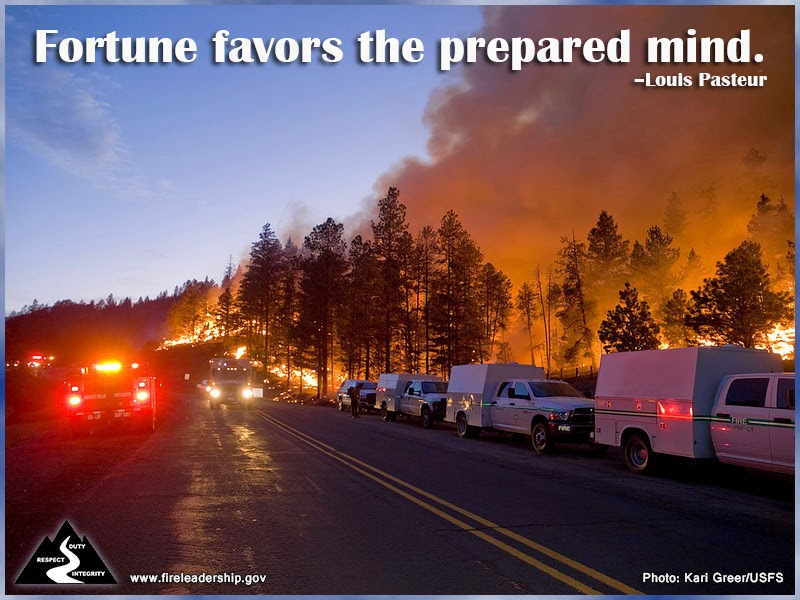Fortune favors the prepared mind. – Louis Pasteur