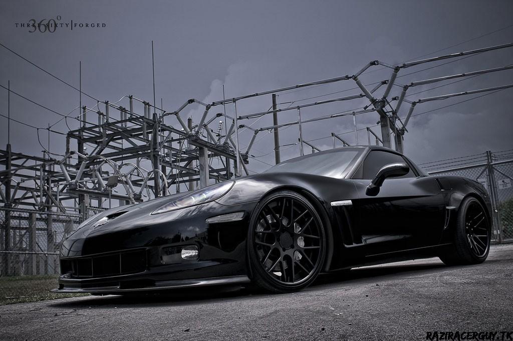 360 Forged Chevrolet Corvette Grand Sport Concave Series Mesh 8