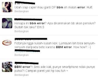 BBM error