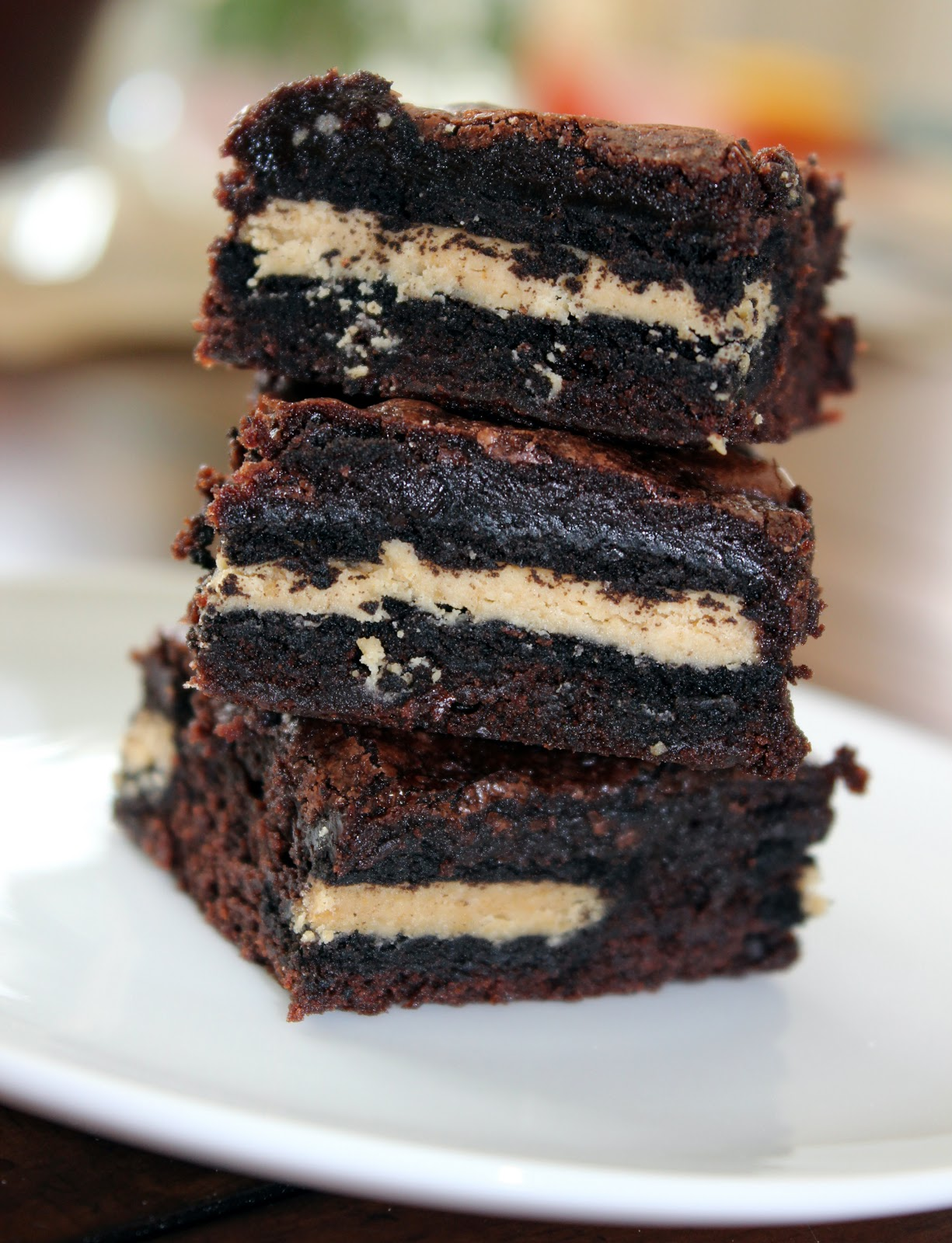 sugar & spice: Peanut Butter Oreo Brownies