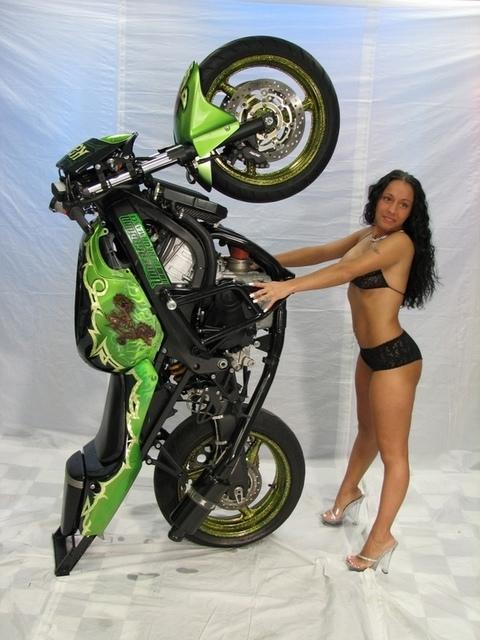 Green CBR HONDA