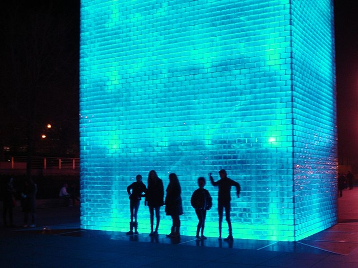 Jaume Plensa 1955 | Spanish Conceptual sculptor | Crown Fountain