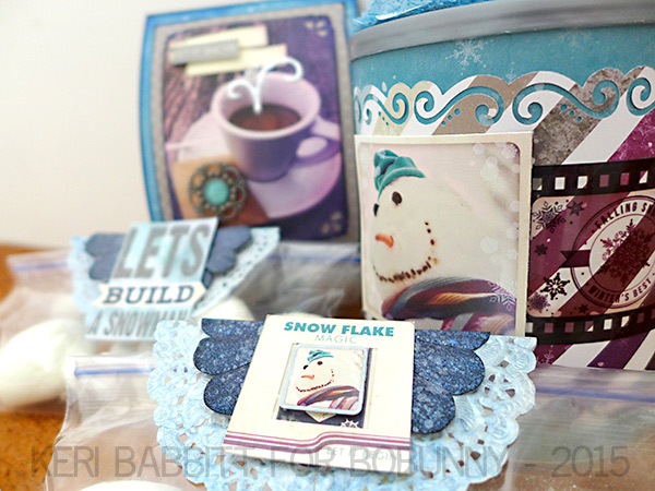 Snowman Kit by Keri Babbitt using Altitude Collection from BoBunny