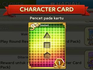 Cara Menggunakan Card Gems Untuk Expand Socket Karakter Get Rich LGR cover