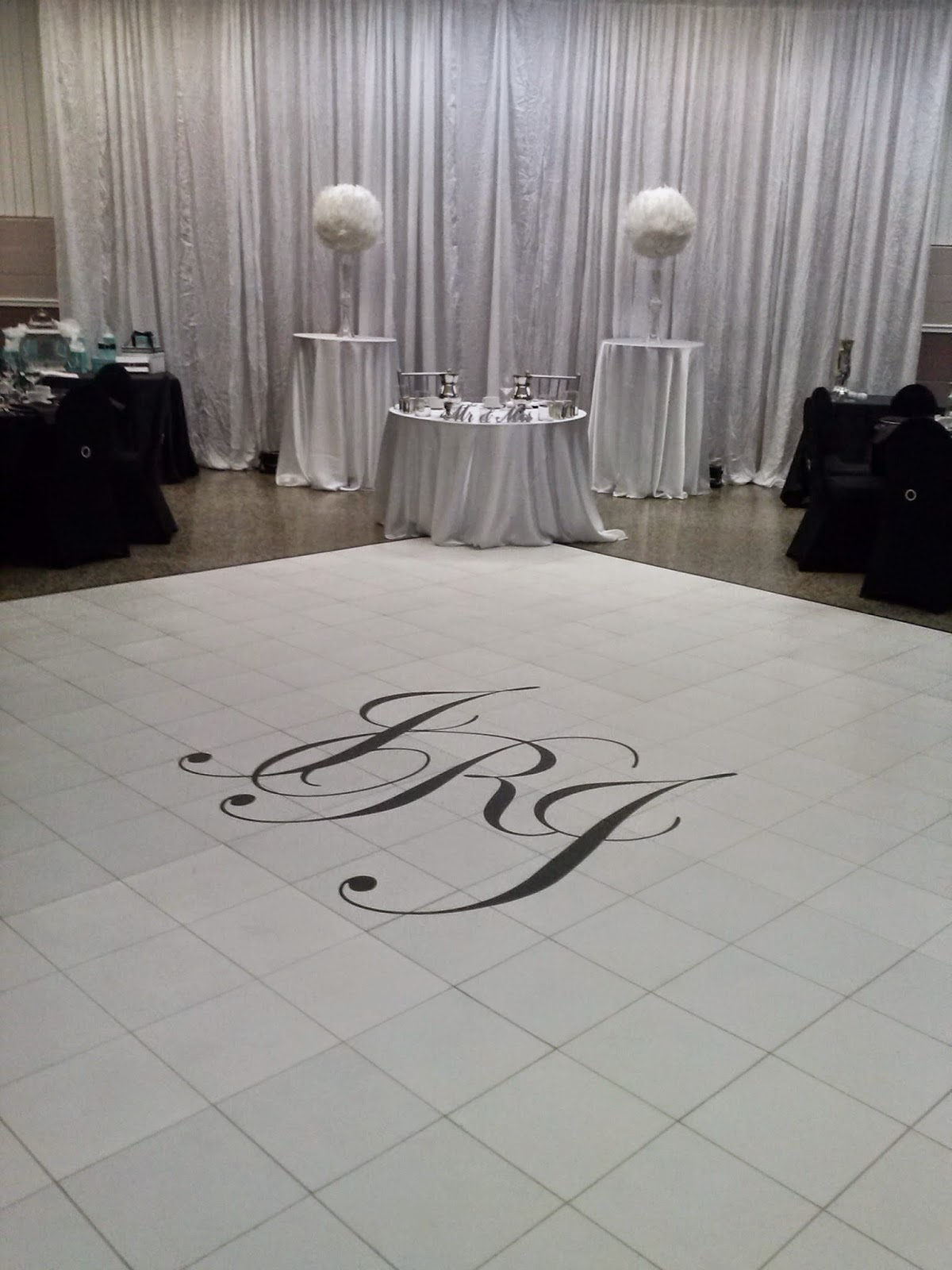 Wedding Dance Floor Vinyl Decal