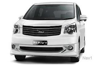 Harga Toyota NAV1 Terbaru 2013 | NAV1 MPV Mewah Toyota Terbaru
