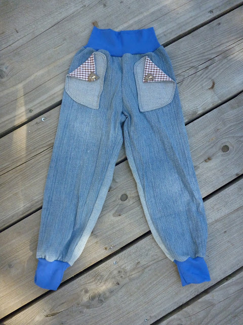 Kinderhose aus alter Jeans