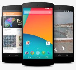 smartphone Nexus 5 in Italia