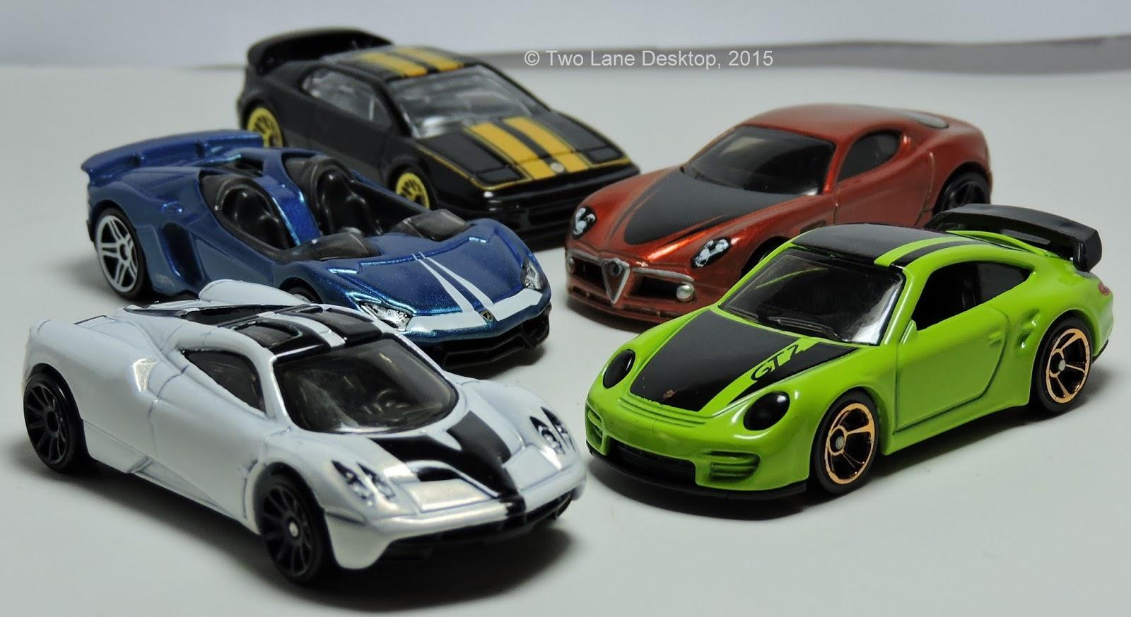 Hot wheels cars 2015