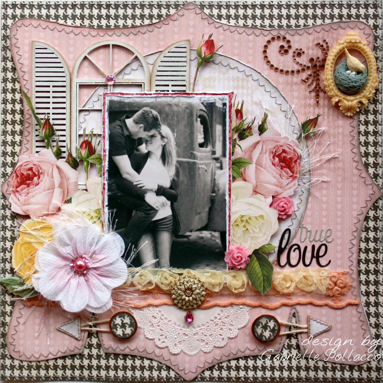 Scrapbook ideas romantic - Romantic