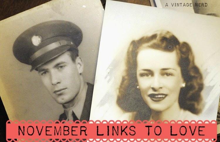 A Vintage Nerd, Links to love, Vintage Blog, Vintage Article