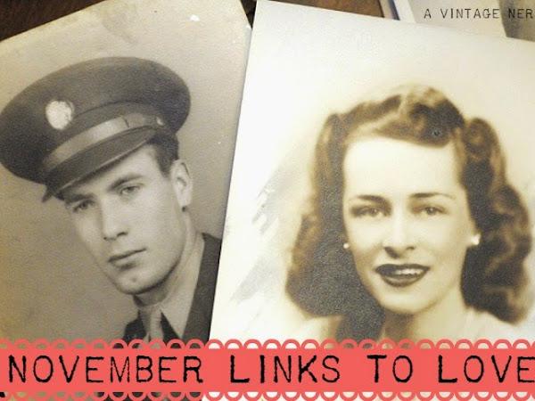 November Links To Love