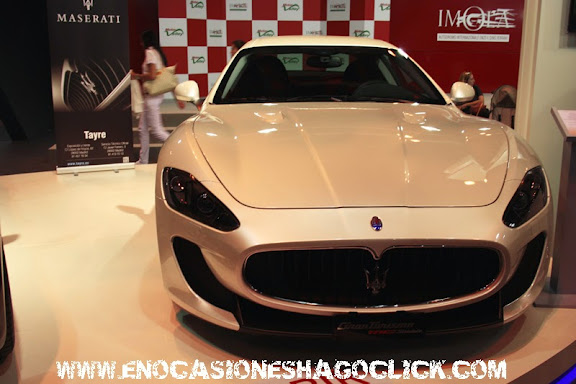 maserati granturismo salon del automovil de madrid 2014