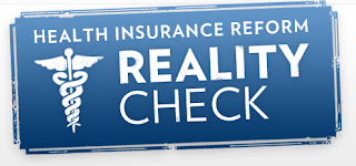 Health Insurance Reform Reality Check - Source: whitehouse.gov/realitycheck/