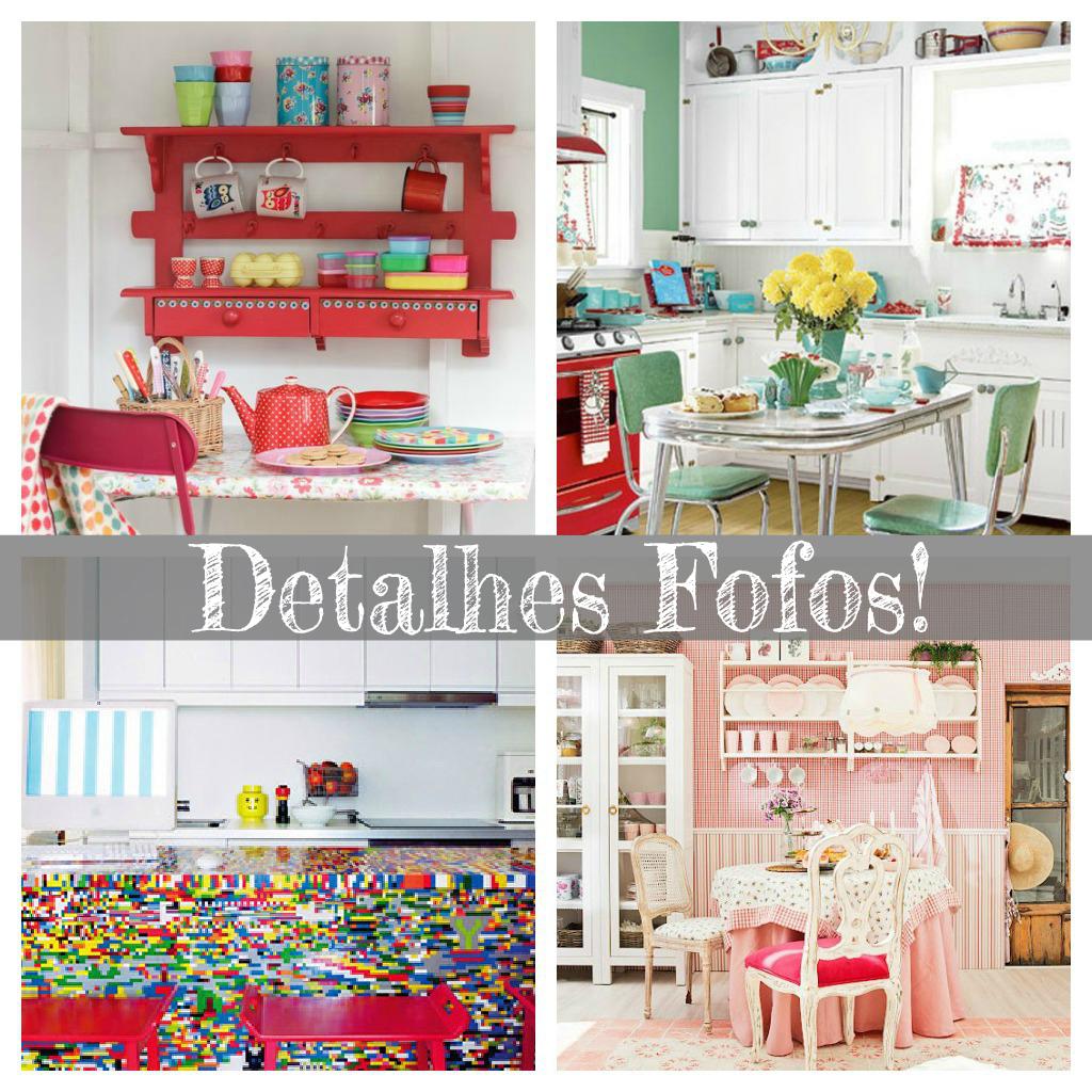 decoracao cozinha fofa : decoracao cozinha fofa:Vitrine Empoeirada: Decoração: Cozinhas Coloridas!