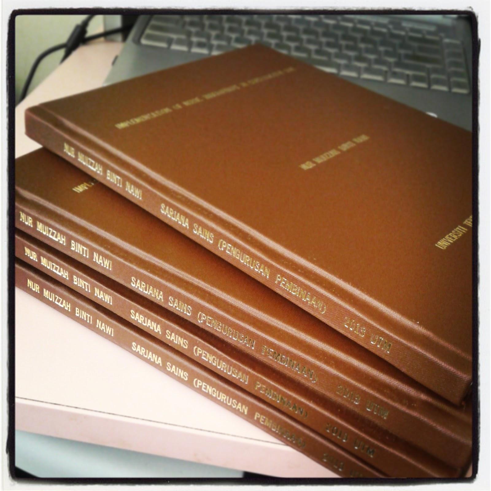 Utm master thesis