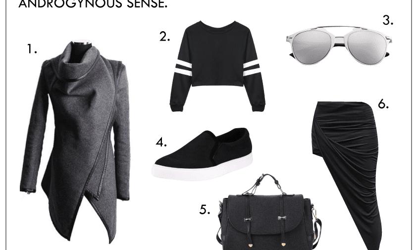 outfit ideas: androgynous sense