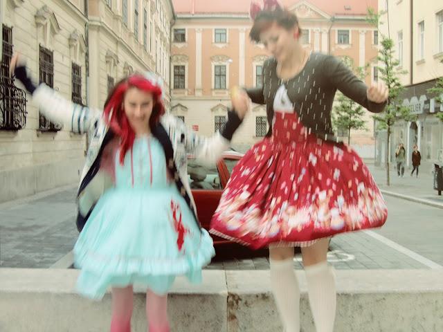 Slovenské lolity v Brne na Animefeste