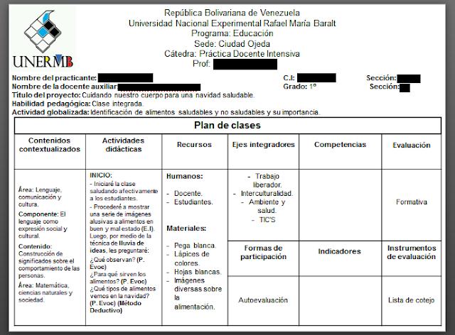 Edublog Metal UNERMB: Tema 9: Modelos de planes de clase y de acción
