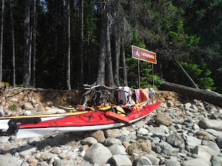 Campsite in Ross Lake National Recreation Area