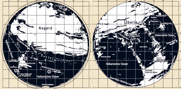 The Hollow Earth Maps Of The Third Reich: There Is An Entrance To The Hollow Earth