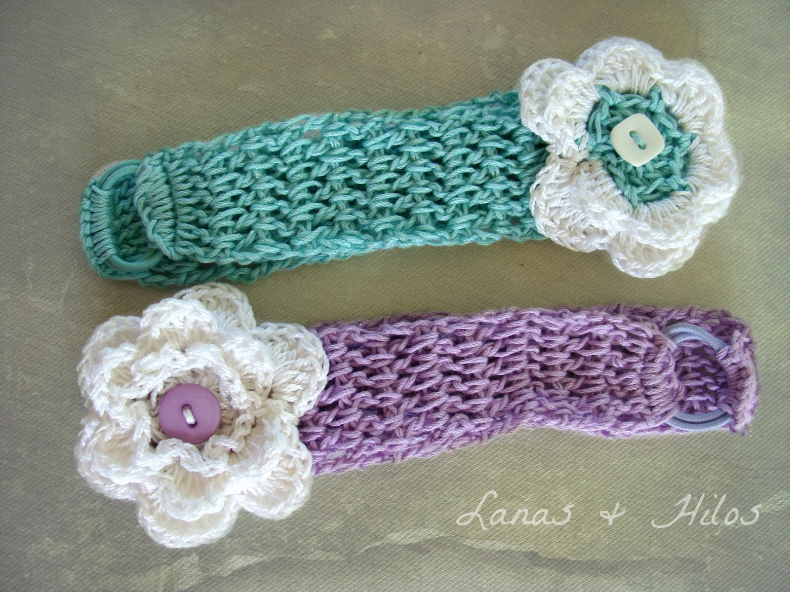 Lanas de Ana: Baby Head Bands (Tutorial)