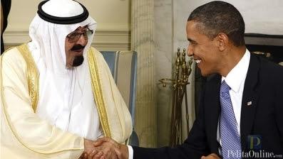 Raja Abdullah dan Obama