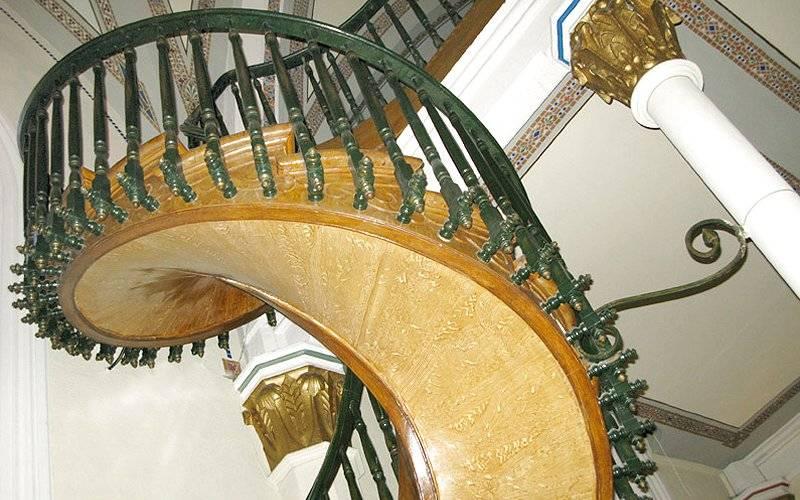 escalier myst rieux de santa fe nouveau mexique usa. Black Bedroom Furniture Sets. Home Design Ideas