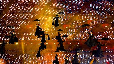 Londres: Mary Poppins venció a Voldemort en las Olimpiadas 2012