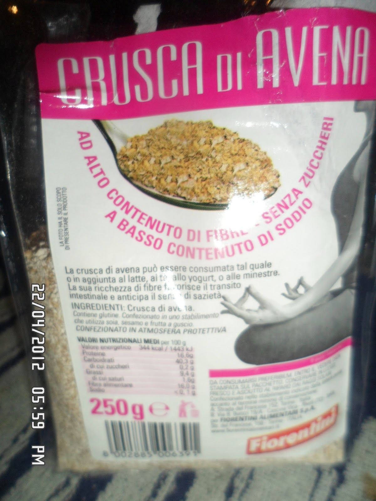 Ricetta crepes dukan crusca d'avena