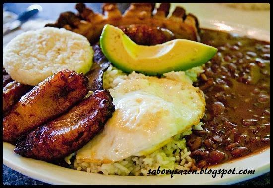 receta de plato de colombia