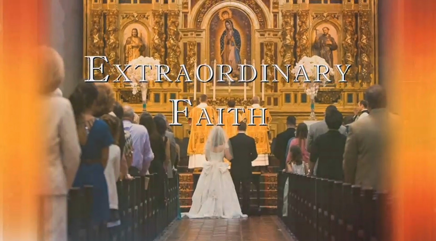 new liturgical movement: extraordinary faith tv on ewtn - debut