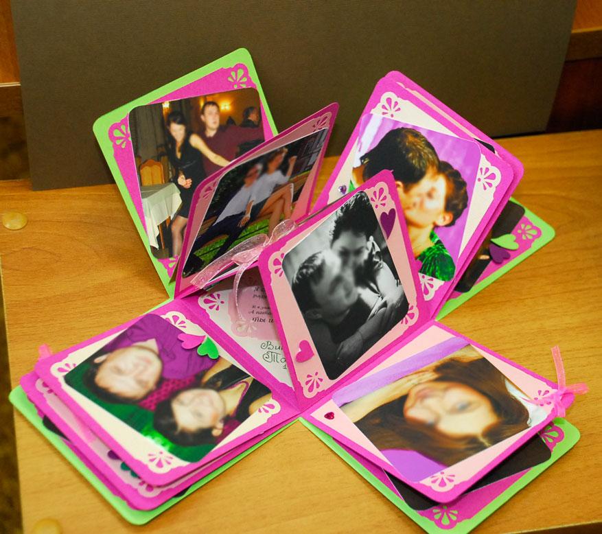 Подарки любимым с фотографиями